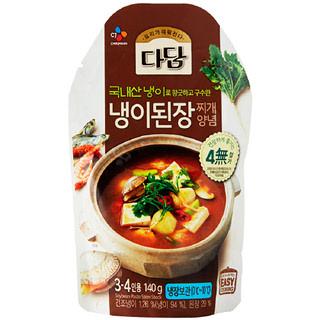 [전단상품]씨제이 다담 냉이된장 찌개양념, 140g(3~4인분)