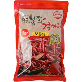 농협 파인토피아 봉화 고춧가루(보통맛), 2020년산, 1kg