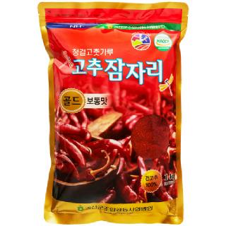 괴산군농협 청결 고춧가루 골드(보통맛), 2020년산, 1kg