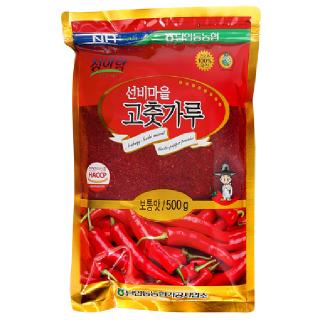 남안동농협 선비마을 고춧가루(보통맛), 2020년산, 500g