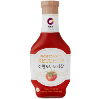 대상 청정원 진한 토마토 케찹, 500g