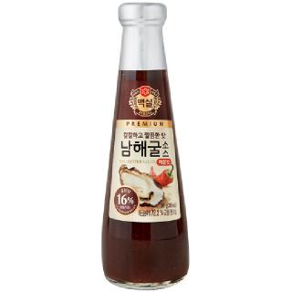 씨제이 백설 남해굴소스 매콤한맛, 350g