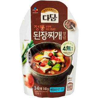 [전단상품]씨제이 다담 된장찌개양념, 140g(3~4인분)