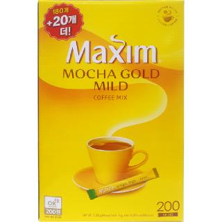 맥심 모카골드 마일드 커피믹스, 2,400g(12g x 200개)