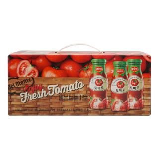 롯데 델몬트 토마토, 180ml x 12병