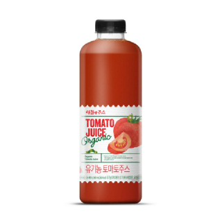 서울우유 아침에 주스 유기농 토마토주스, 900ml