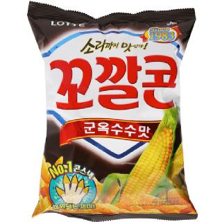 [전단상품]롯데 꼬깔콘 군옥수수맛, 120g