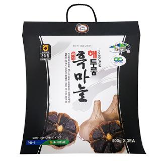 [4+1]해두룸 흑마늘, 500g x 3개