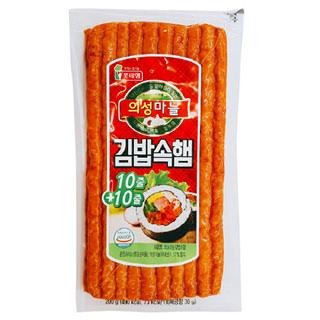 롯데 의성마늘 김밥속햄, 200g