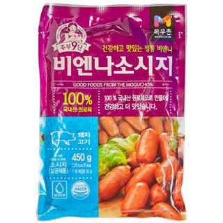 [전단상품]농협 목우촌 주부9단 비엔나 소시지, 450g