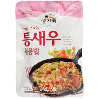 [전단상품]풀무원 생가득 통새우 볶음밥, 450g(2인분)