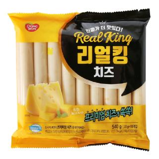 리얼킹 치즈봉 540g, 30gx18개
