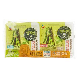 행복한콩 2가지로만 국산콩부침찌개 300g*2, 300g x 2