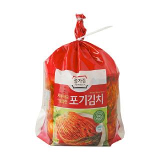 [전단상품]대상 종가집 시원하고 깔끔한 포기김치, 3.3kg