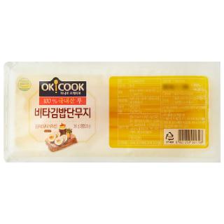 OKCOOK 비타 김밥단무지, 350g