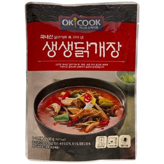 [전단상품]OKCOOK 생생 닭개장, 500g