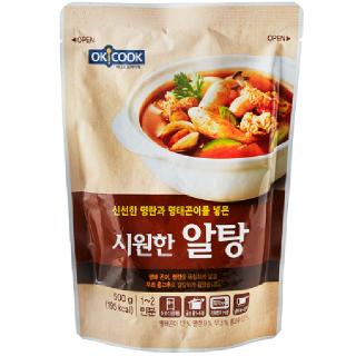 [전단상품]OKCOOK 시원한 알탕, 500g(1~2인분)