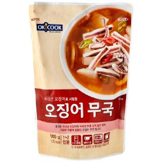 OKCOOK 오징어 무국, 500g(1~2인분)