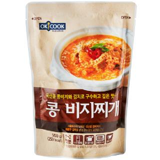 OKCOOK 콩 비지찌개, 500g(1~2인분)