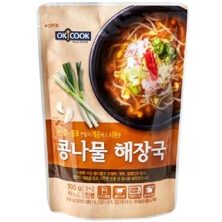 OKCOOK 콩나물 해장국, 500g(1~2인분)