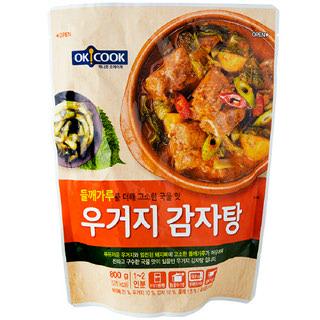 [전단상품]OKCOOK 우거지 감자탕, 800g(1~2인분)