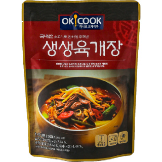 [전단상품]OKCOOK 생생 육개장, 500g(1~2인분)