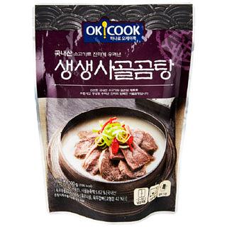 [전단상품]OKCOOK 생생 사골곰탕, 500g(1~2인분)