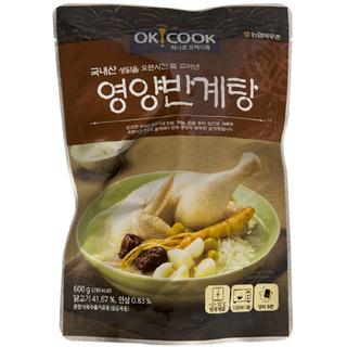 OKCOOK 영양반계탕, 600g