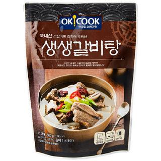 [전단상품]OKCOOK 생생 갈비탕, 500g(1~2인분)