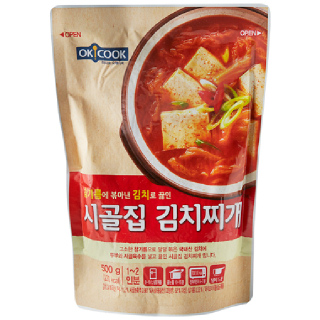 OKCOOK 시골집 김치찌개, 500g(1~2인분)