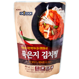 OKCOOK 묵은지 김치찜, 400g(1~2인분)