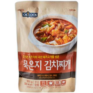 OKCOOK 묵은지 김치찌개, 500g(1~2인분)