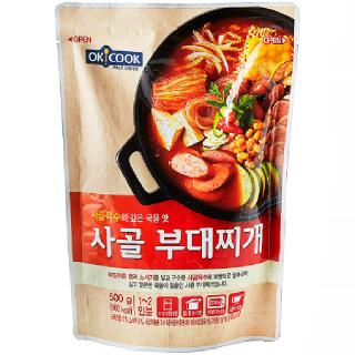OKCOOK 사골 부대찌개, 500g(1~2인분)
