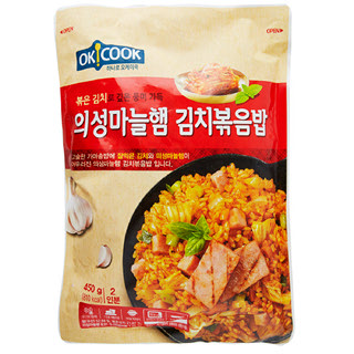 OKCOOK 의성마늘햄 김치볶음밥, 450g(2인분)