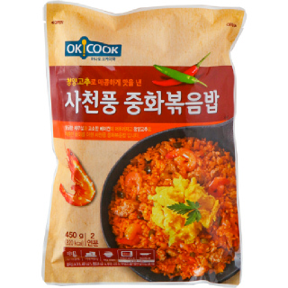 OKCOOK 사천풍 중화볶음밥, 450g(2인분)