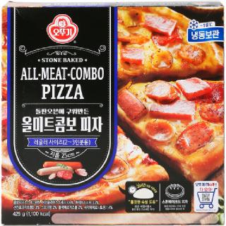 [전단상품]오뚜기 올미트콤보 피자, 425g(2~3인분)