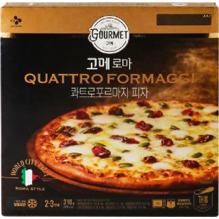 고메 로마 콰트로포르마지 피자 310g, 310g