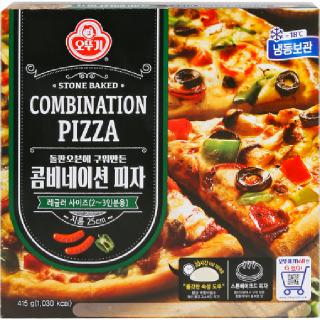[전단상품]오뚜기 콤비네이션 피자, 415g