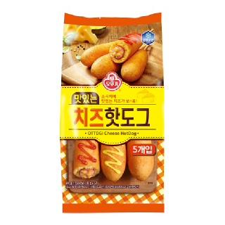 [전단상품]오뚜기 맛있는 치즈 핫도그, 400g