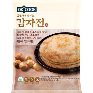 OKCOOK 감자전, 390g(3인분)