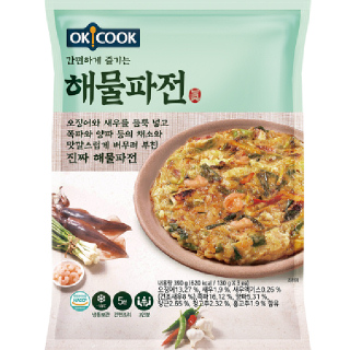 OKCOOK 해물파전, 390g(3인분)