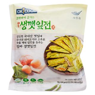 OKCOOK 매콤 생깻잎전, 240g
