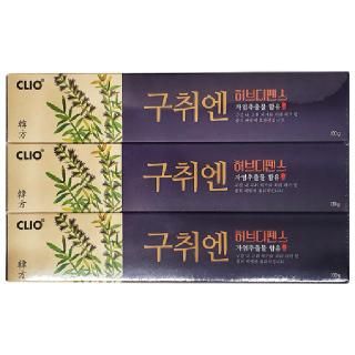 클리오 구취엔 허브디펜스 치약, 130g x 3개