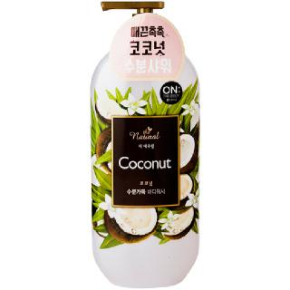 [전단상품]LG 온더바디 더내추럴 코코넛 바디워시, 900g