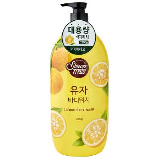 [전단상품]애경 샤워메이트 유자 바디워시, 1,200g