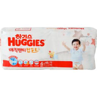 [전단상품]하기스 매직 컴포트 팬티형(남아용/4단계/대형), 48매