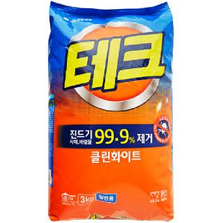 [전단상품]LG 테크 클린화이트(일반용), 3kg
