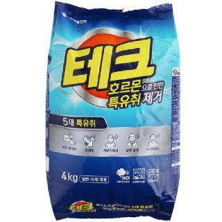 [전단상품]엘지 테크 호르몬특유취 제거(일반/드럼겸용), 4kg