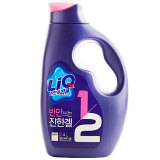 애경 반만쓰는 리큐 진한겔 1/2 일반세탁기용, 2.4L