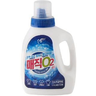 피죤 매직O2 골드 산소계표백제(일반/드럼겸용), 1.5kg